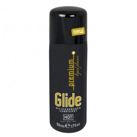 Интимный гель на силиконовой основе Premium Glide - 50 мл.