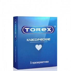 """Гладкие презервативы Torex """"Классические"""" - 3 шт."""